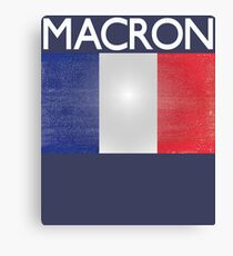 Macron French Presidential Election Victory Canvas Print