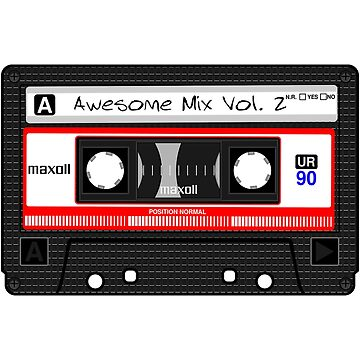 Awesome Mix Vol. 2 by Craighedges1