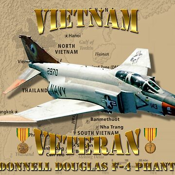 F-4 Phantom US Navy Vietnam Veteran by BasilBarfly