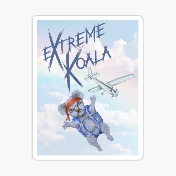Extreme Koala - Skydiver Sticker