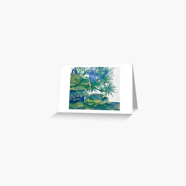 Beach Day Dream Greeting Card