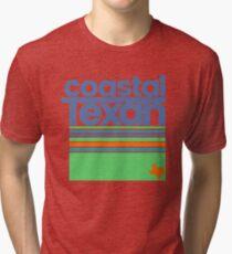 Coastal Texan Regional Shirt Funny Texas T-Shirt Gulf Coast Tri-blend T-Shirt