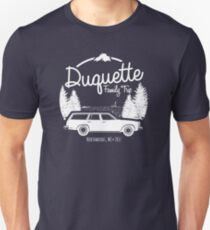 Duquette Family Vacation 2017 - White Ink T-Shirt