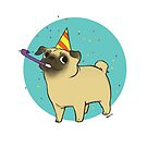 Party Pug by joannahunt