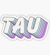 Pop Art 1.5 - Tau Sticker