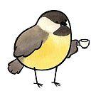 Fancy Chickadee by joannahunt
