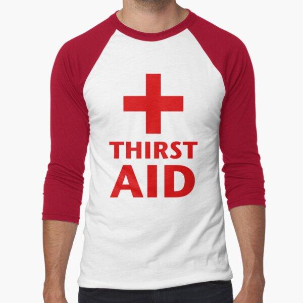 Thirst Aid Baseball ¾ Sleeve T-Shirt