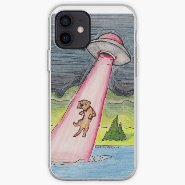 Otter Abduction iPhone Soft Case