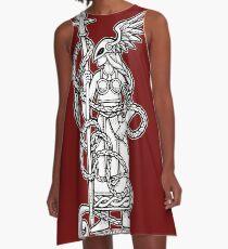 Valkyrie 16 A-Line Dress