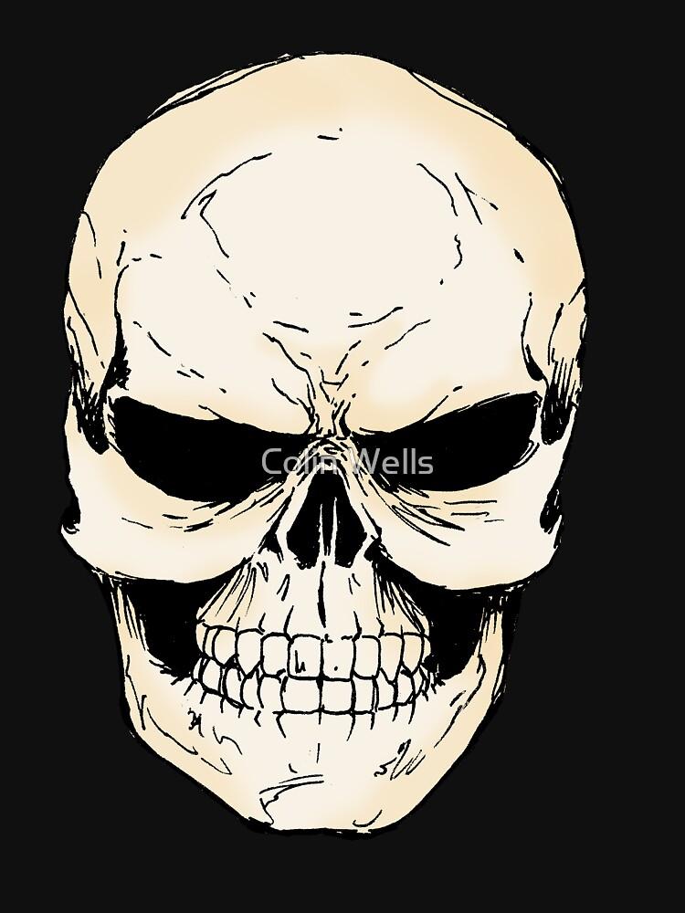 Skull by mrdenmac