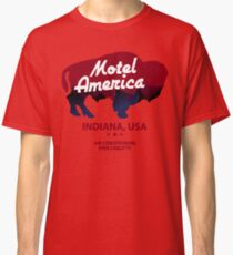 Motel America - Home of the Gods Classic T-Shirt