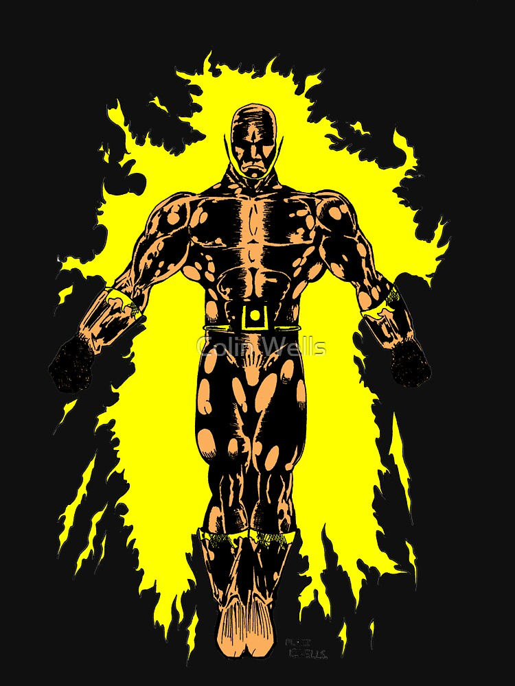 Flame- Man on Fire by mrdenmac