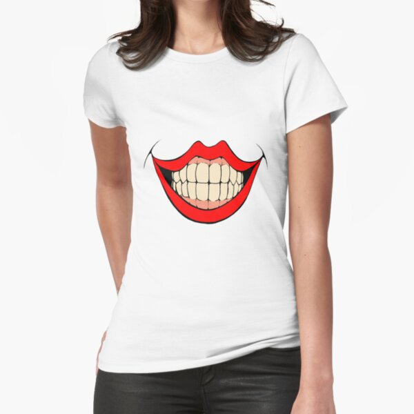 Toothy Grin Fitted T-Shirt