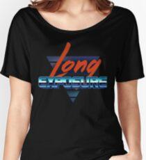 80s long exposure logo Women's Relaxed Fit T-Shirt