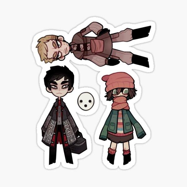 three healers (pathologic) Sticker