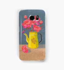 Yellow kettle filled with love Samsung Galaxy Case/Skin