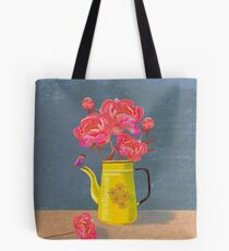 Yellow kettle filled with love Tote Bag