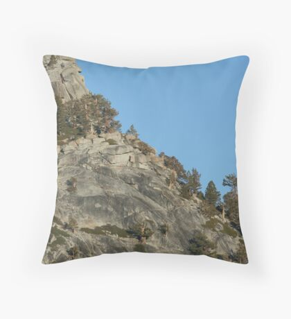 Cathedral Range  Throw Pillow