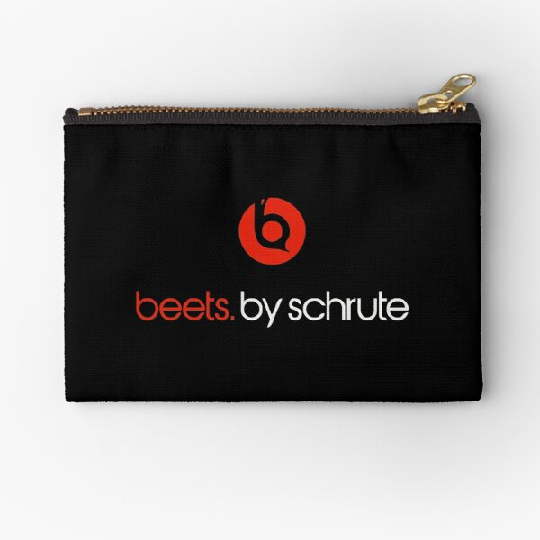 Beets By Schrute  Zipper Pouch
