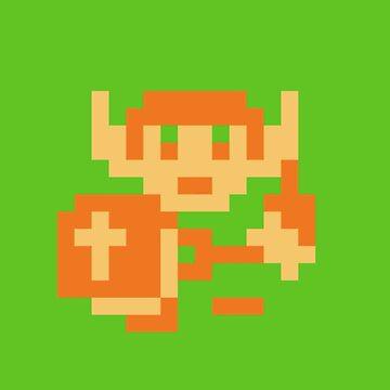 8-bit hero by yestshirt