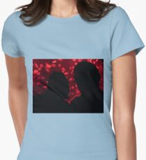 Together In The Dark Womens Fitted T-Shirt
