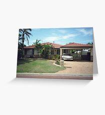 suburbia Greeting Card