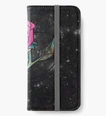 Stained Glass Rose Galaxy iPhone Wallet/Case/Skin