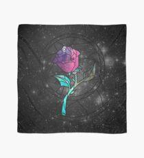Stained Glass Rose Galaxy Scarf