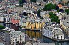 Alesund, Norway by Gerda Grice