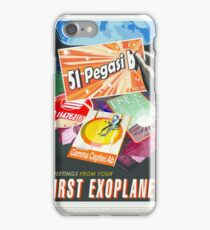 NASA, JET PROPULSION LABORATORY, 51 PEGASI B  GREETINGS FROM YOUR FIRST EXOPLANET iPhone Case/Skin