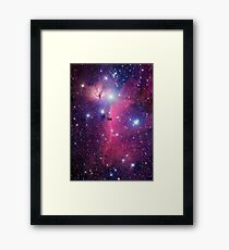 Purple Galaxy Framed Print