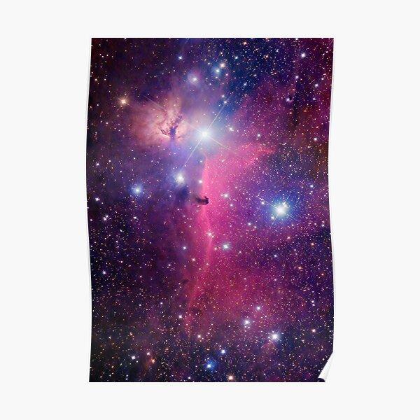 Purple Galaxy Poster