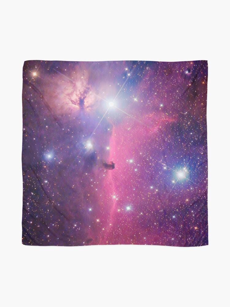 Alternate view of Purple Galaxy Scarf