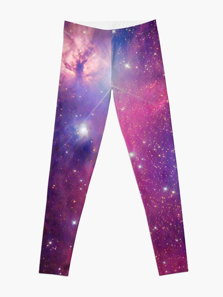 Alternate view of Purple Galaxy Leggings
