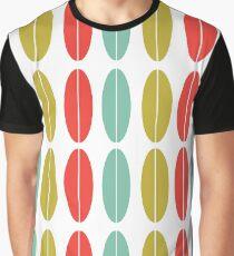 Mid Century Pattern 01 Graphic T-Shirt