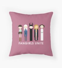 Fangirls Unite #RBSTAYCAY Throw Pillow