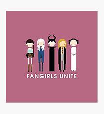 Fangirls Unite #RBSTAYCAY Photographic Print