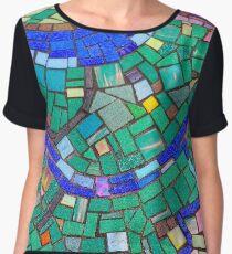Maclean Mosaic Chiffon Top