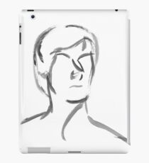 Japanese Brush Portrait iPad Case/Skin