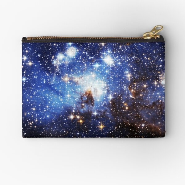 Blue Galaxy 3.0 Zipper Pouch