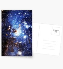 Blue Galaxy 3.0 Postcards