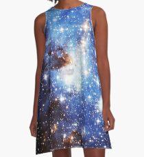 Blue Galaxy 3.0 A-Line Dress