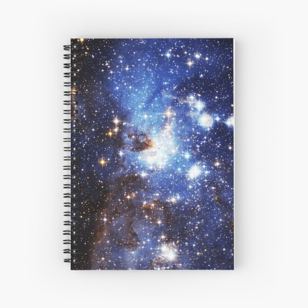 Blue Galaxy 3.0 Spiral Notebook