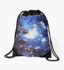 Blue Galaxy 3.0 Drawstring Bag