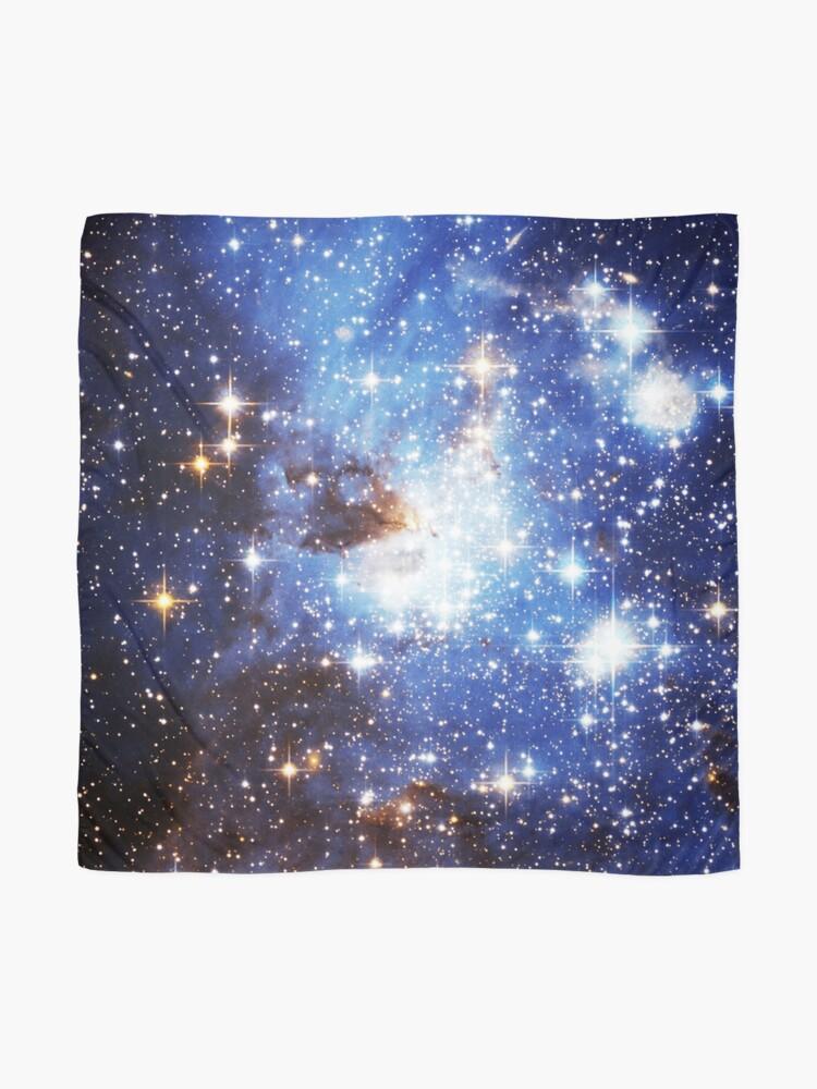 Alternative Ansicht von Blaue Galaxie 3.0 Tuch