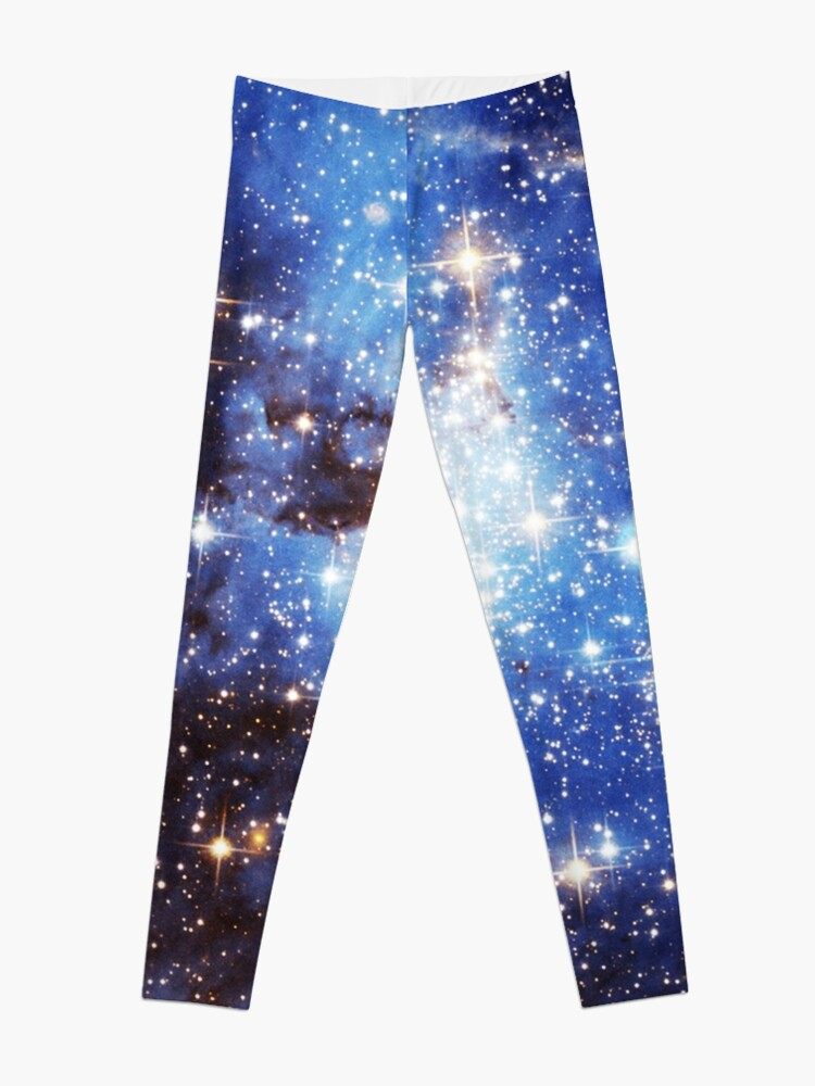 Alternate view of Blue Galaxy 3.0 Leggings