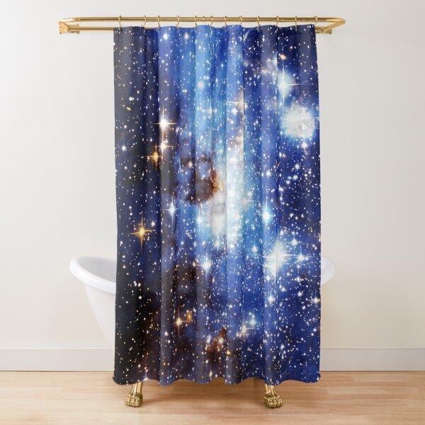 Blue Galaxy 3.0 Shower Curtain
