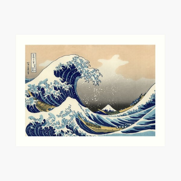 Great Wave Art Print