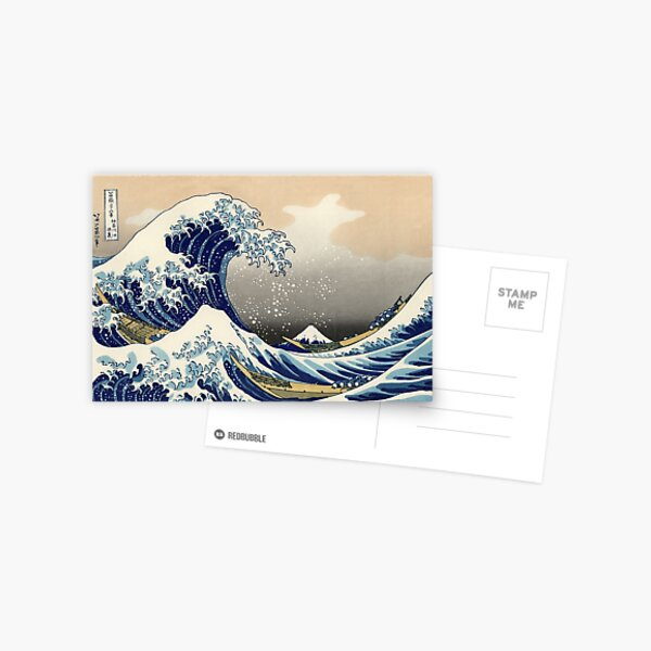 Great Wave Postcard
