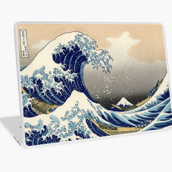 Great Wave Laptop Skin